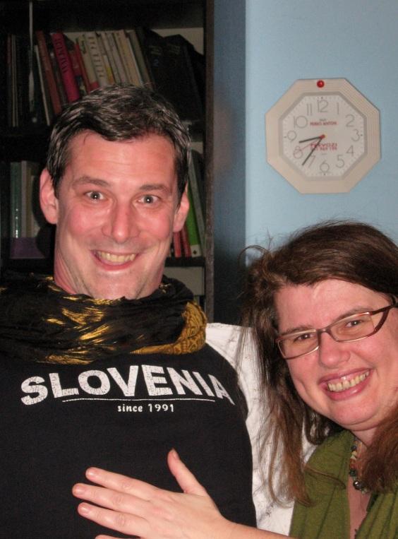 I've got more men in Slovenia shirts