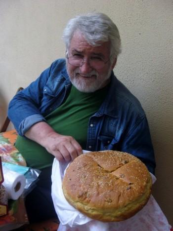 Proud baker