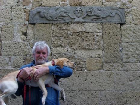 Installation with live animals