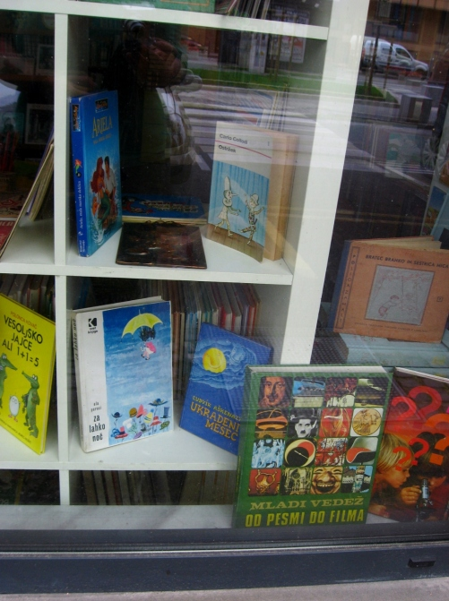 Three childhood books in one window.