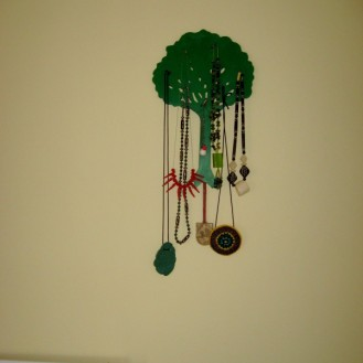 My tree! With the gold medal in SLO+DS ! Handpainted and jewellery by DS