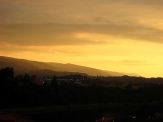 The last one of the day over Pohorje