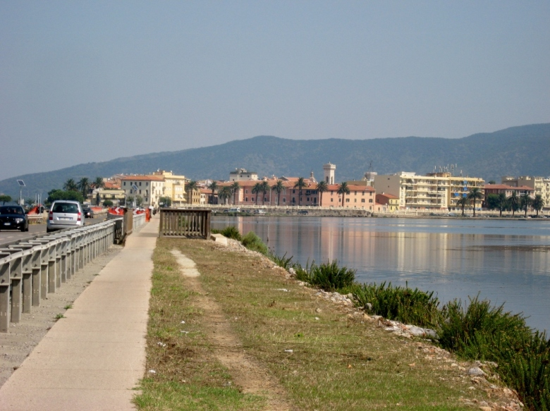 ...because it comes with its own lagoon (Orbetello)