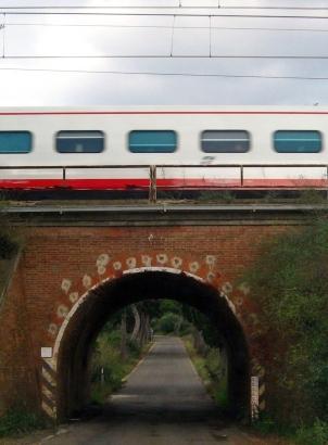 Treno in anticipo