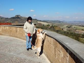 March - in Orvieto