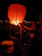 Lantern releasing custom
