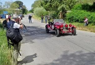 Paparazzo, Mille miglia race