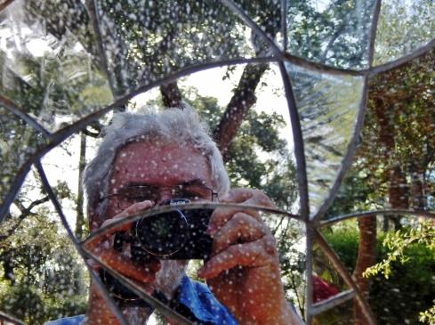 Giardino dei tarocchi selfie