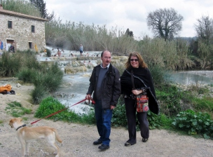 With my new branco in Terme Saturnia