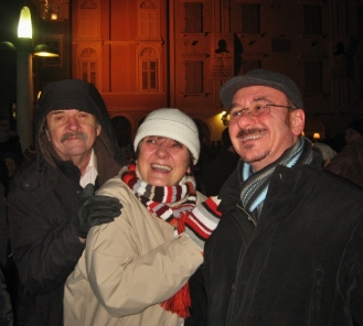 Happy New Year in Piran.