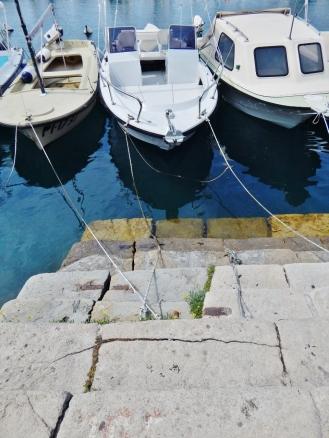 Boat trio in Piran.