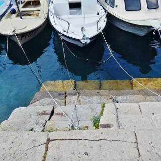 Boat trio in Piran.