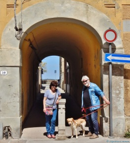 Orbetello with 'grandparents'. May.