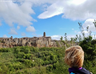 Wow effect. /Pitigliano/